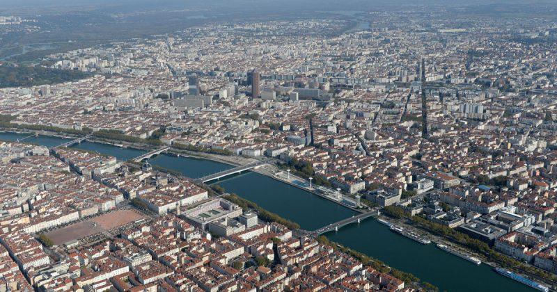 Le territoire de la Métropole de Lyon