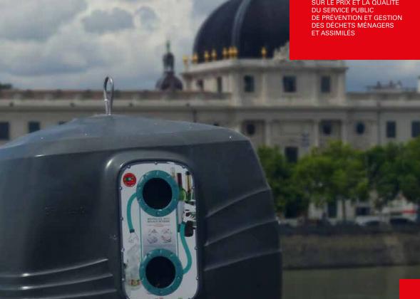 Le rapport annuel 2017 de la métropole de Lyon sur la gestion des déchets !