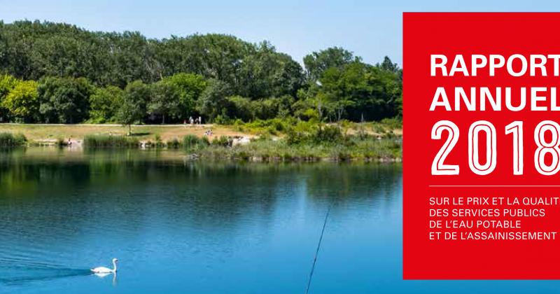 Rapport annuel 2018 sur la gestion de l'eau potable et de l'assainissement